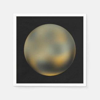 The Planet Pluto Napkin