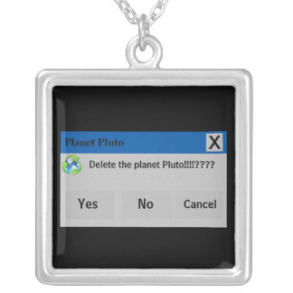The Planet Pluto Necklace