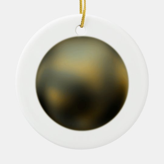 The Planet Pluto Ornament