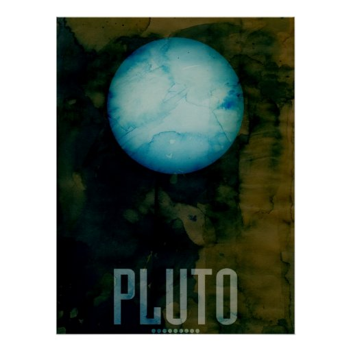 The Planet Pluto Posters