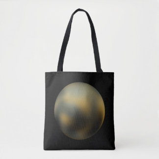 The Planet Pluto Tote Bag