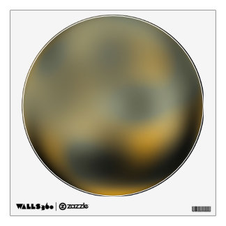 The Planet Pluto Wall Sticker
