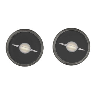 The Planet Saturn Cufflinks