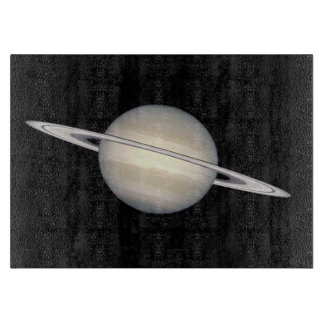 The Planet Saturn Cutting Board