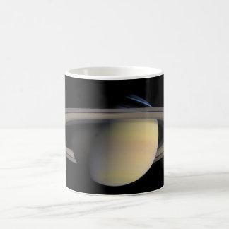 The Planet Saturn from Cassini Orbiter Coffee Mugs