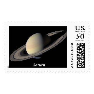 The Planet Saturn Postage