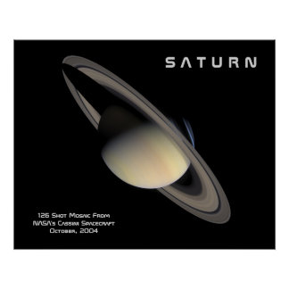 planet saturn poster - photo #10