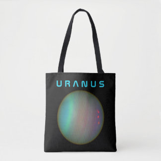 The Planet Uranus - See Both Sides Tote Bag