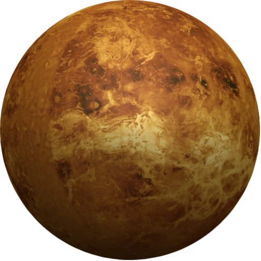 The Planet Venus 3D Effect Acrylic Cut Out Zazzle
