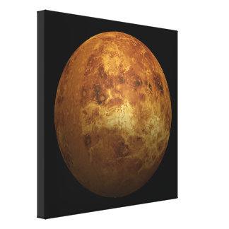 The Planet Venus - 3D Effect Canvas Print