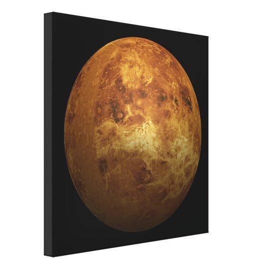 The Planet Venus - 3D Effect Canvas Print