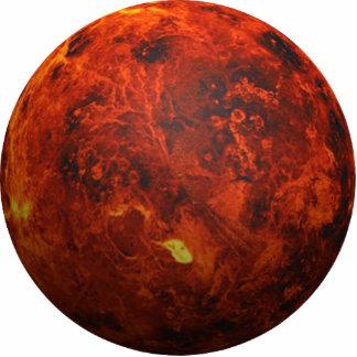 The Planet Venus - 3D Effect Standing Photo Sculpture