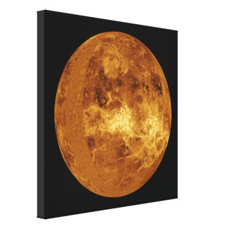 The Planet Venus Canvas Print