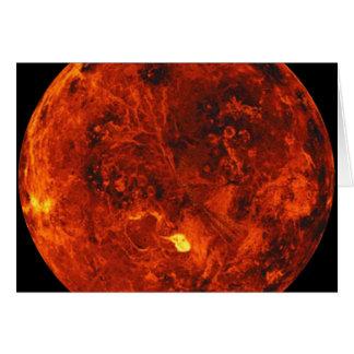 The Planet Venus Card