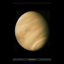 The Planet Venus Poster