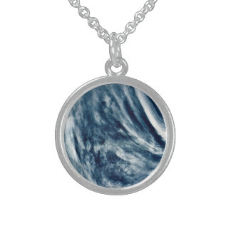 The Planet Venus Round Pendant Necklace