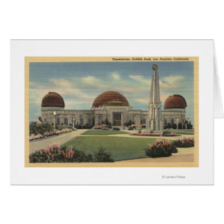 The Planetarium at Griffith Park Card