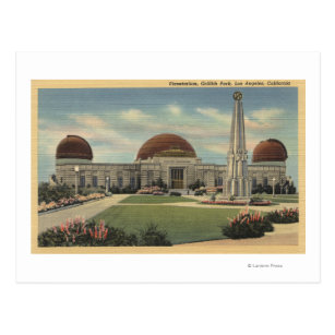The Planetarium at Griffith Park Postcard