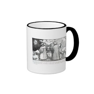 The Planetary Systems Ringer Coffee Mug