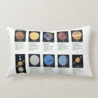 The Planets Lumbar Pillow