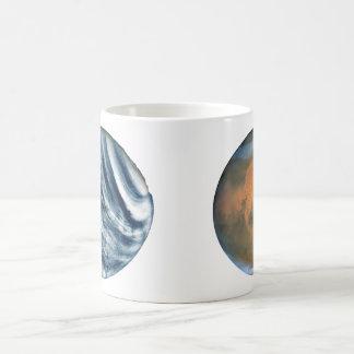 The Planets Mars & Venus Classic White Coffee Mug