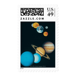The Planets Stamps