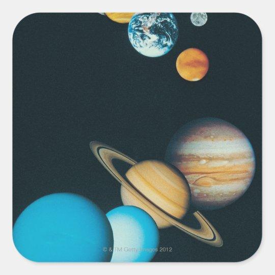 The Planets Square Sticker