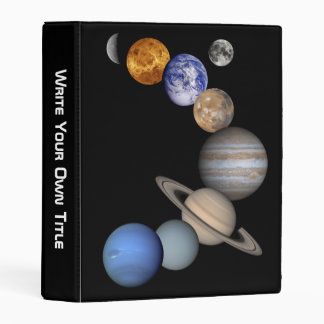The Planets - Write Your Own Title Mini Binder