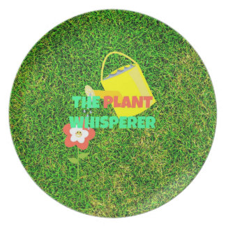 The Plant Whisperer - Gardening Party Plate