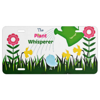 The Plant Whisperer License Plate
