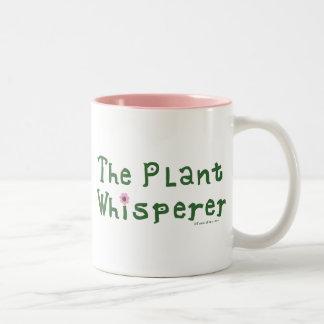 The plant whisperer Two-Tone coffee mug