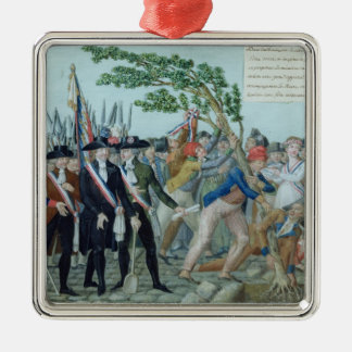 The Planting of a Tree of Liberty, c.1789 Metal Ornament