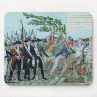 The Planting of a Tree of Liberty, c.1789 Mouse Pad