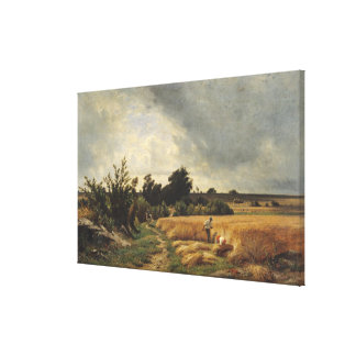 The Plateau of Ormesson Canvas Print