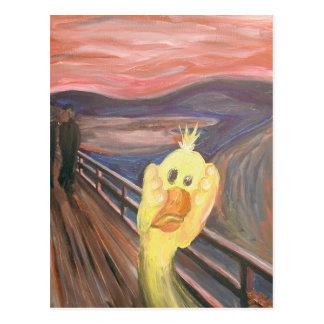 The Platypus Scream Postcard