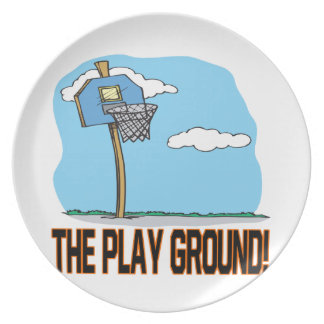 The Play Ground Dinner Plate