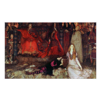 """The Play Scene in """"Hamlet"""" Poster"""