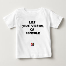 The Play-Videos, that Comforts - Word games Baby T-Shirt