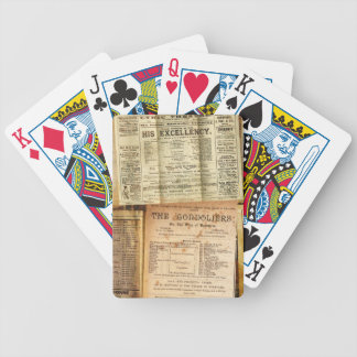The Playbills Bicycle Playing Cards