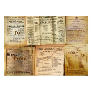 The Playbills Large Business Cards (Pack Of 100)