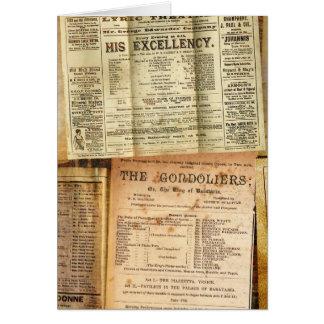 The Playbills Card