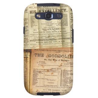 The Playbills Samsung Galaxy SIII Cases