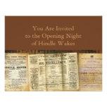 The Playbills Custom Invites