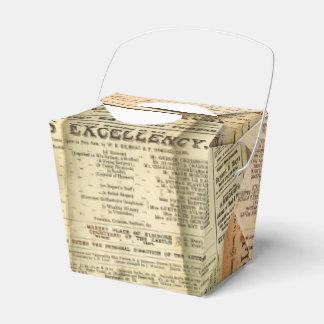 The Playbills Favor Box