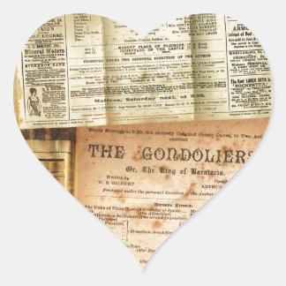 The Playbills Heart Sticker