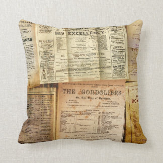 The Playbills Pillow