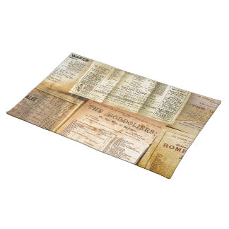 The Playbills Placemat