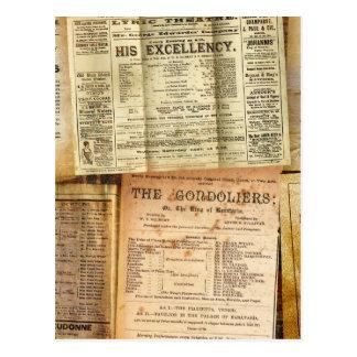 The Playbills Postcard