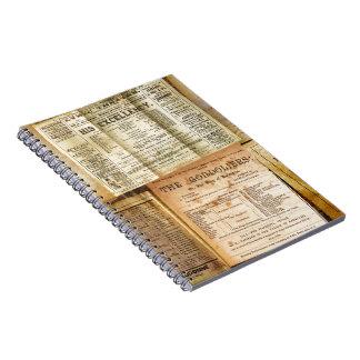 The Playbills Spiral Notebook