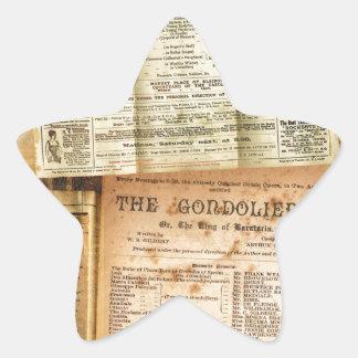 The Playbills Star Sticker